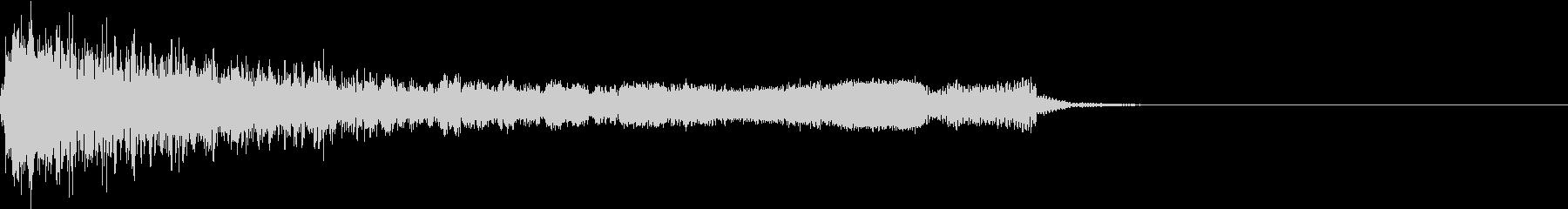 衝撃 ギター インパクト ノイズ 05の未再生の波形