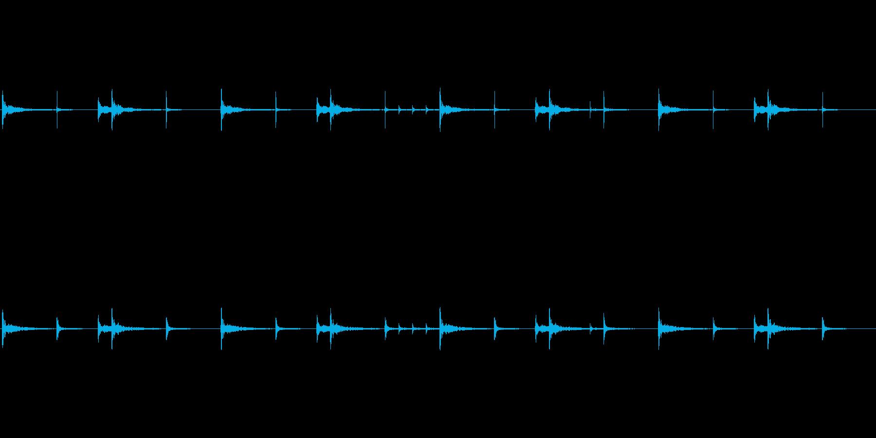 和太鼓のリバーブありループ音源です。歴…の再生済みの波形