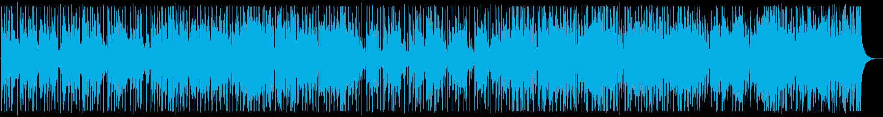 涼しげな夏のカフェBGM_No584_1の再生済みの波形