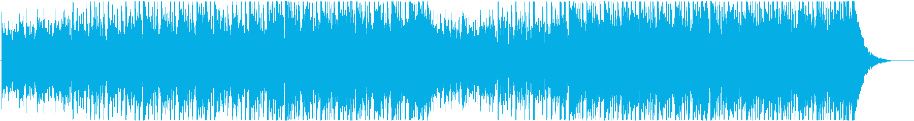 BGM for web advertising with a friendly atmosphere's reproduced waveform