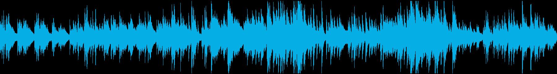 【ループ】動画・配信・日常・紹介 ピアノの再生済みの波形