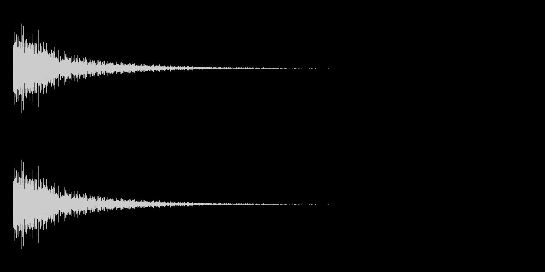 防御 3の未再生の波形