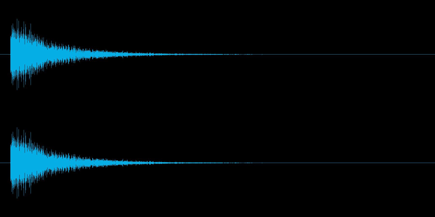 防御 3の再生済みの波形