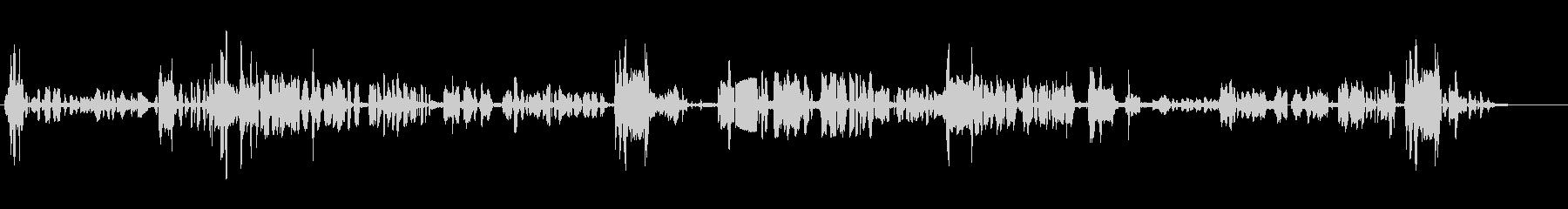 スウェーデンラジオスキャンの未再生の波形