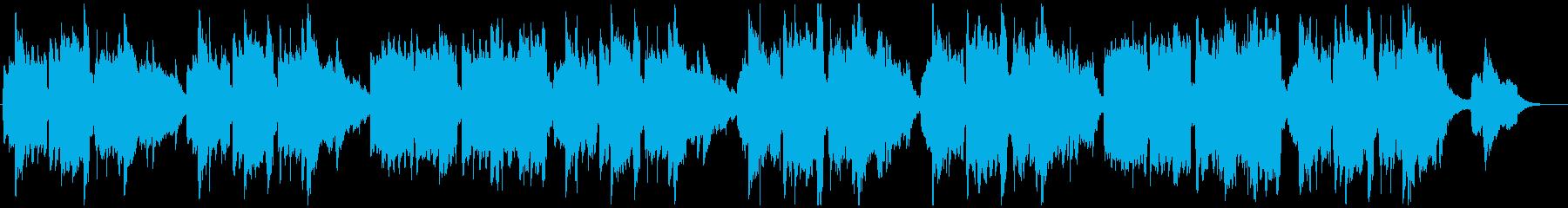 サリーガーデン ティンホイッスルの再生済みの波形