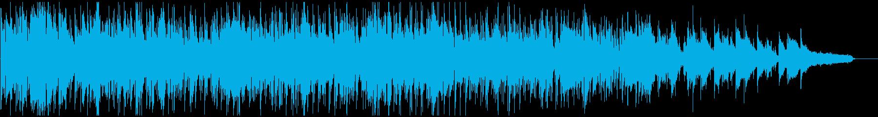 フレッシュなボサノバ・ジャズ、軽快テンポの再生済みの波形