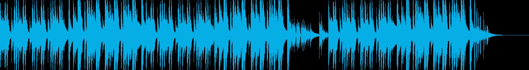 動物ほのぼの耳にマイルドな音で散歩の再生済みの波形