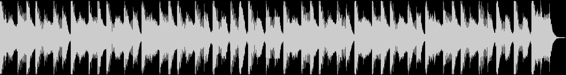 犬・猫・子供のバタバタシンセループの未再生の波形