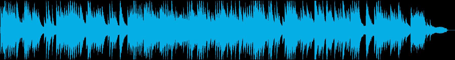 明るい雰囲気のピアノソロバラードの再生済みの波形