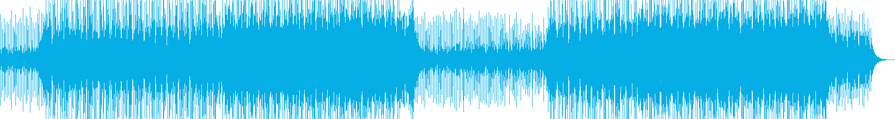 ブレイクビーツ ほのぼの 幸せ 感...の再生済みの波形