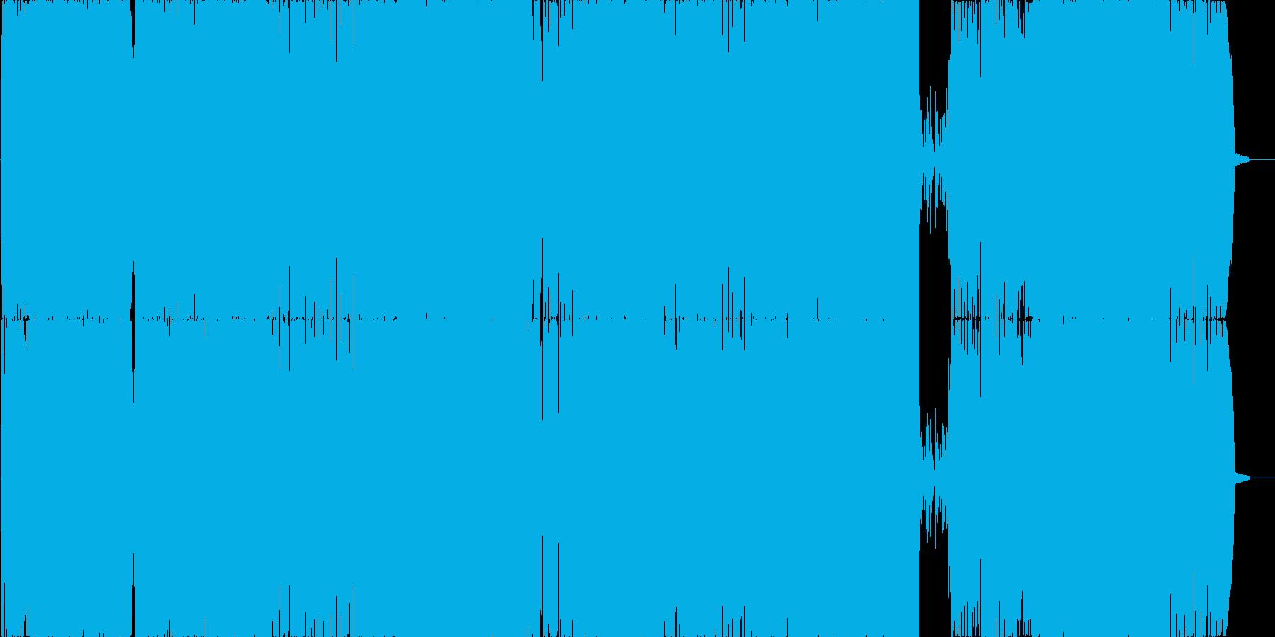 元気になれるノリの良い前衛的JPOPの再生済みの波形