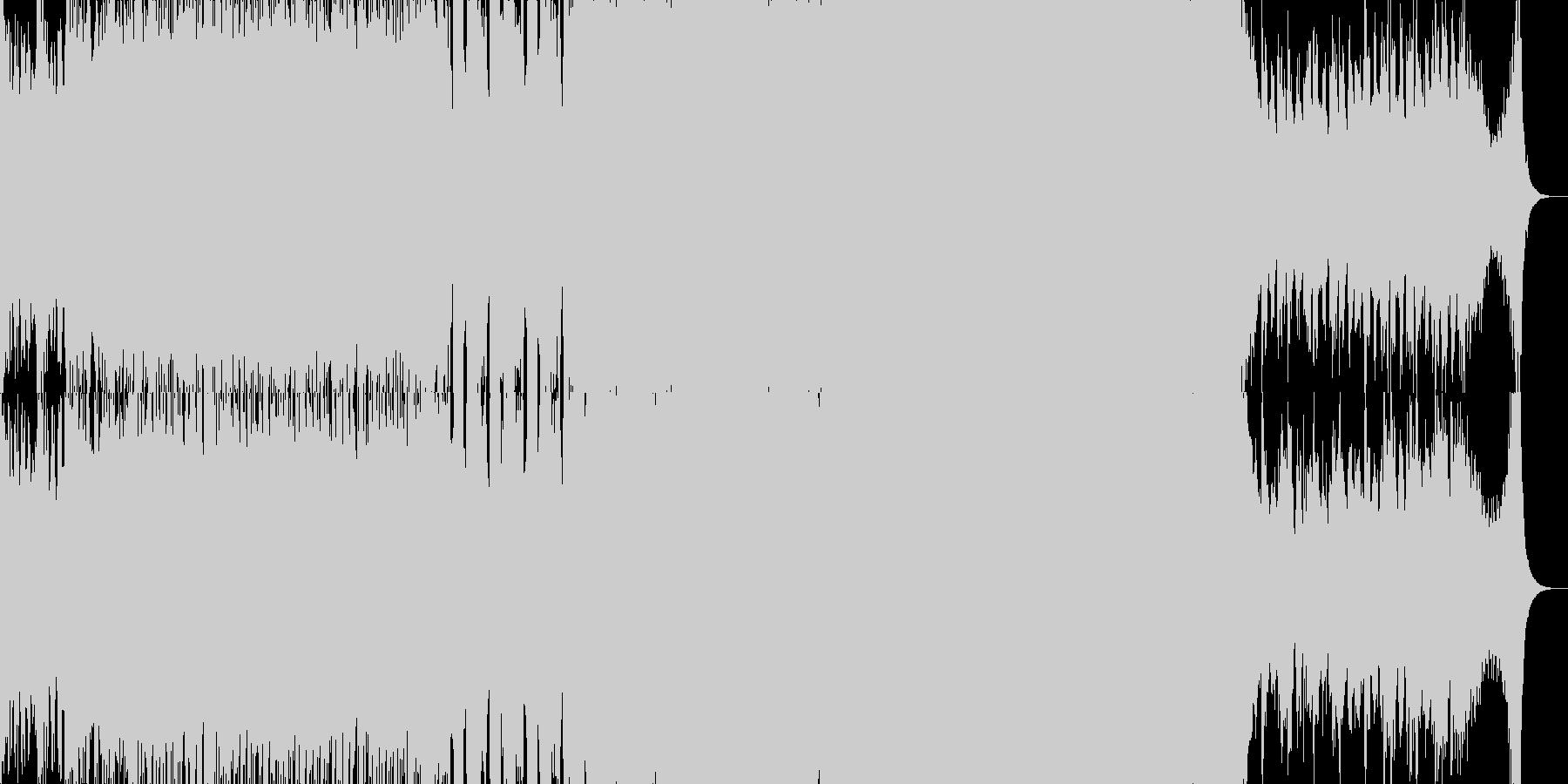 戦闘~勝利 シンフォニックメタル風戦闘曲の未再生の波形
