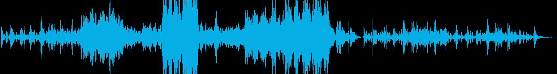 キラキラと星が輝く美しい響きのピアノソロの再生済みの波形
