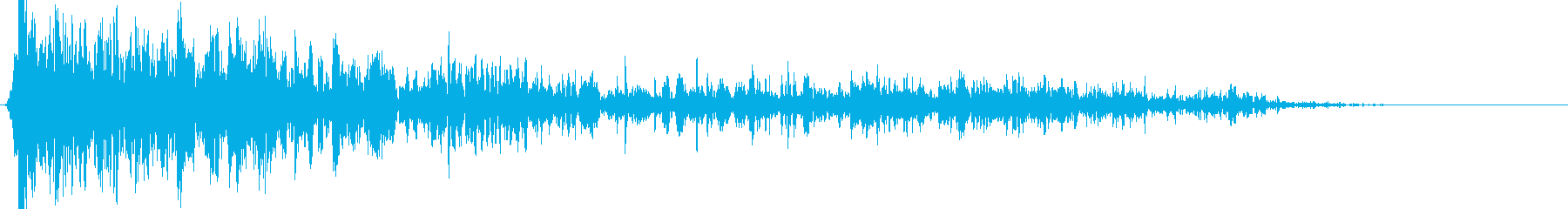 ヘビーロッククラッシュインパクトの再生済みの波形