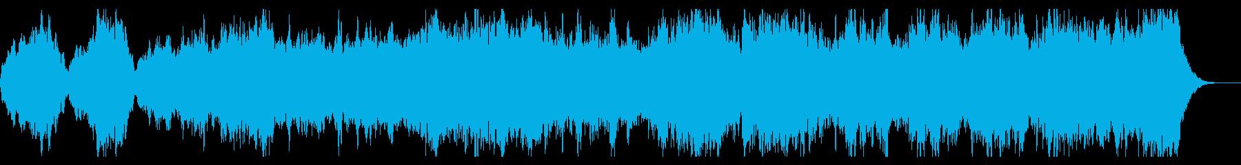 哀愁感のある幻想的、ダークなBGMの再生済みの波形