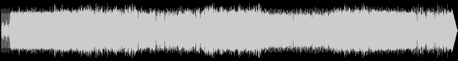 ミドルテンポのメロディアスガールズロックの未再生の波形