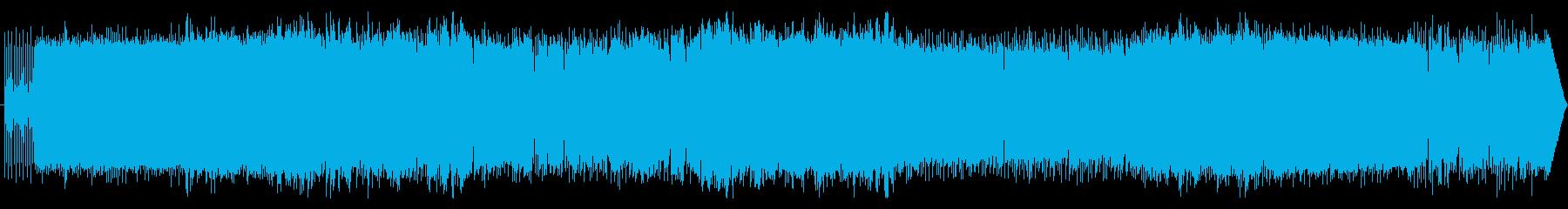 ミドルテンポのメロディアスガールズロックの再生済みの波形