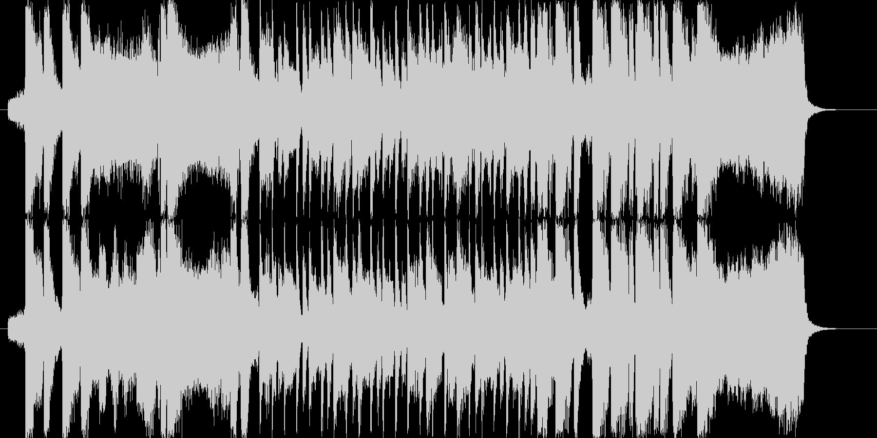 元気の出るオープニング〜爽やか系ピアノの未再生の波形