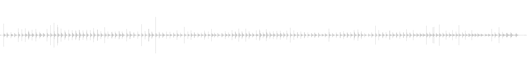 バイノーラル足音走るスニーカー女性右の未再生の波形