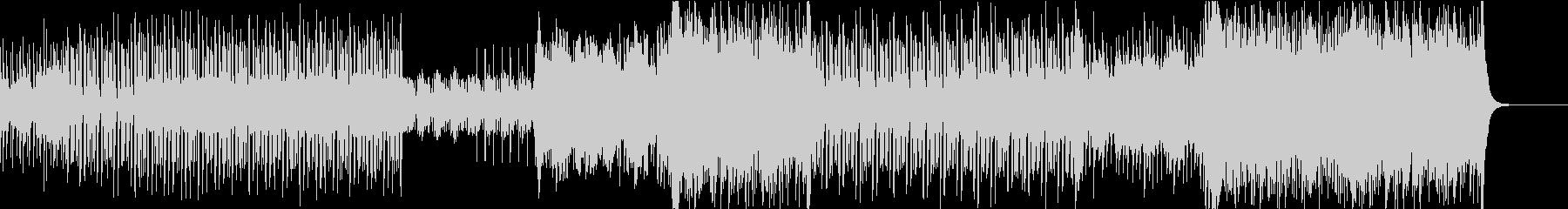 ギターの音色が印象的なトロピカルハウスの未再生の波形