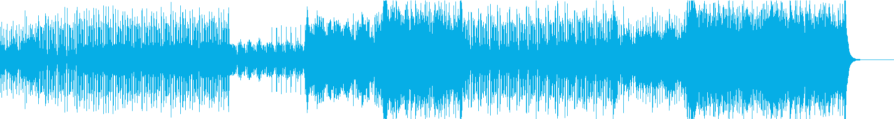 ギターの音色が印象的なトロピカルハウスの再生済みの波形