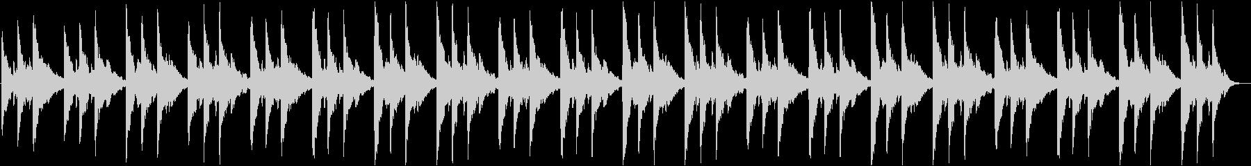 幻想的なBGM1の未再生の波形
