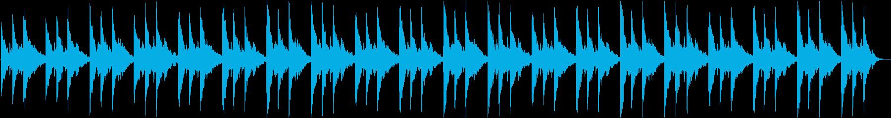 幻想的なBGM1の再生済みの波形