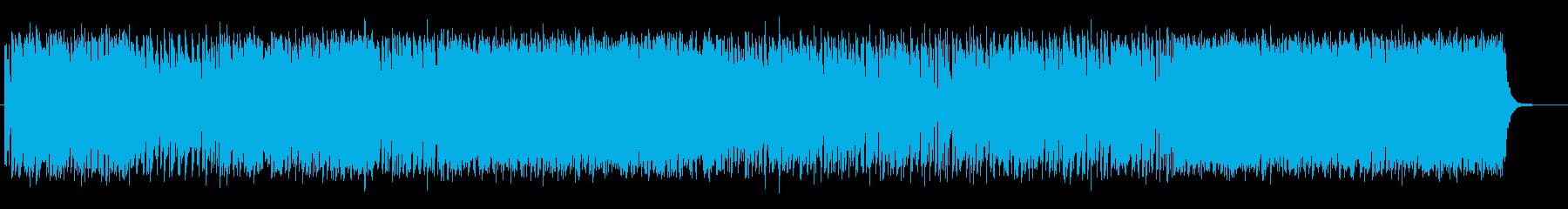 感動的なミディアムテンポのポップスの再生済みの波形