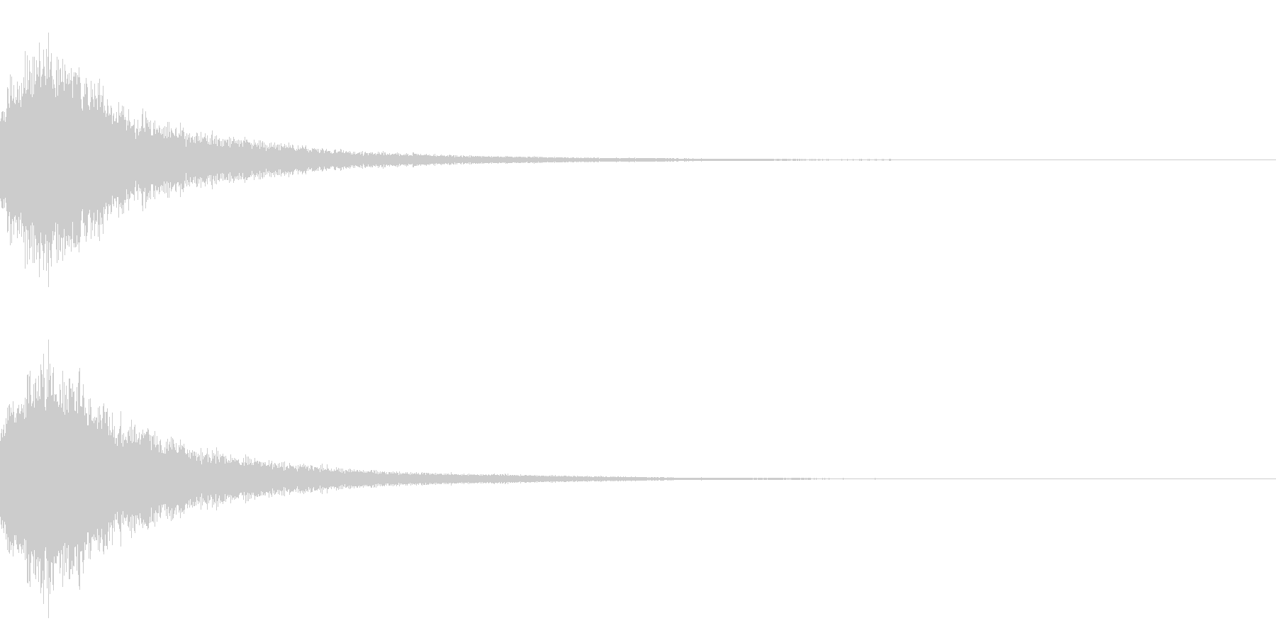 魔法シャキン(輝き,魔法ステッキ)33bの未再生の波形