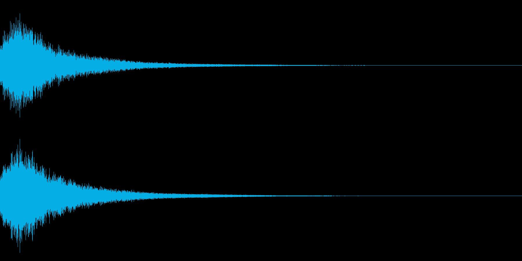 魔法シャキン(輝き,魔法ステッキ)33bの再生済みの波形