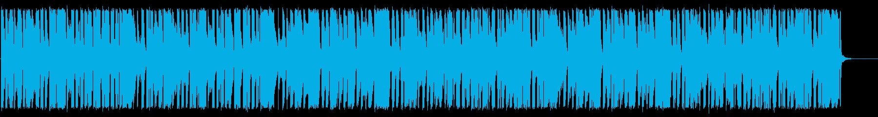 ほのぼのとした、アナログ感あるBGM♪の再生済みの波形