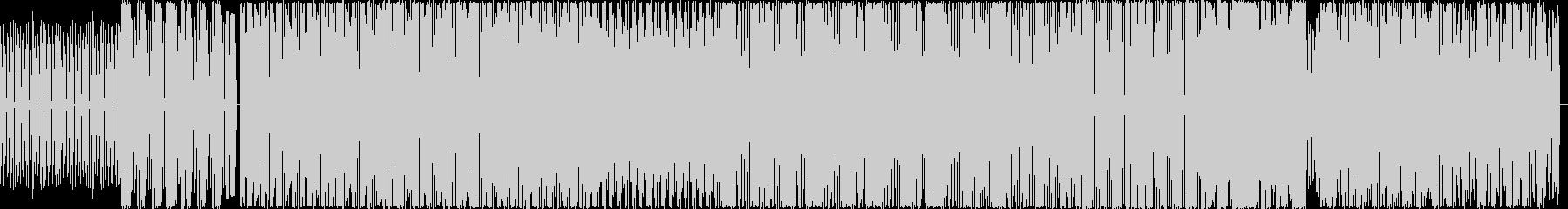 BGM用テクノハウスの未再生の波形