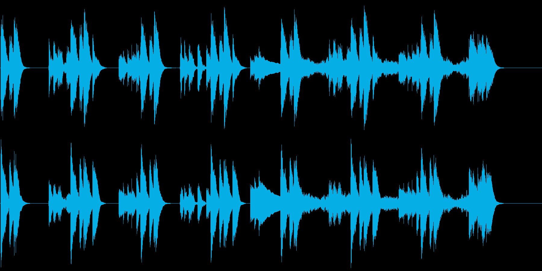 動画広告 30秒 ミニマルA ポジティブの再生済みの波形