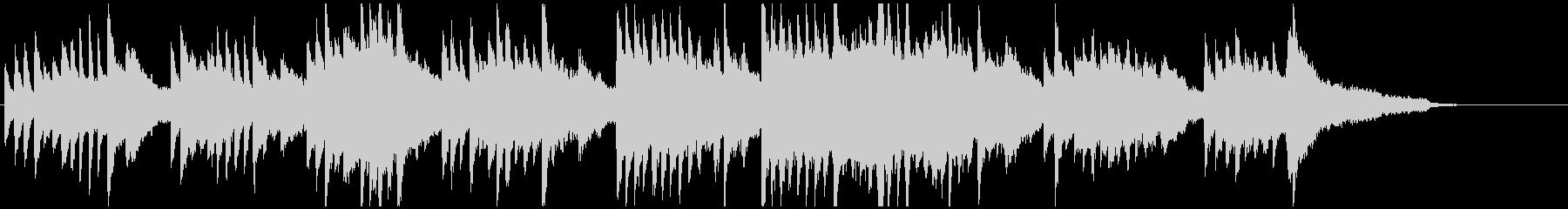 ピアノ 感動 ブライダル 清楚 シンプルの未再生の波形