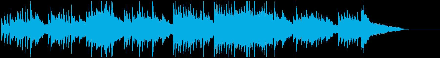 ピアノ 感動 ブライダル 清楚 シンプルの再生済みの波形