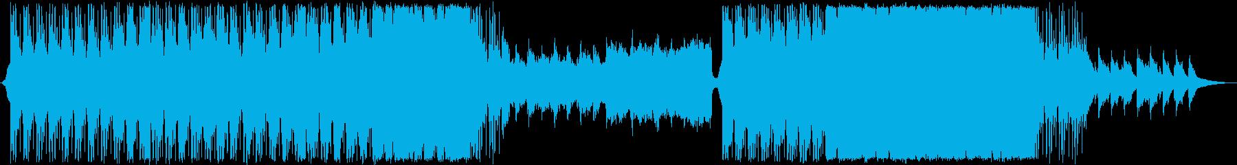 緊迫感/テクスチャー/ドキュメンタリーの再生済みの波形