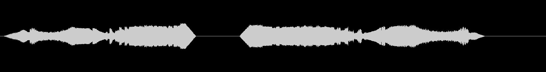 ライジングマルチピッチサウンドウェ...の未再生の波形