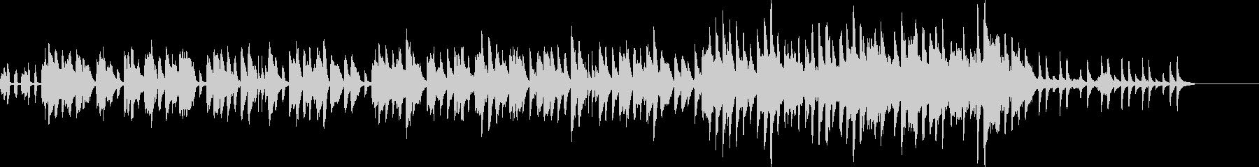 メルヘンなイメージの曲の未再生の波形