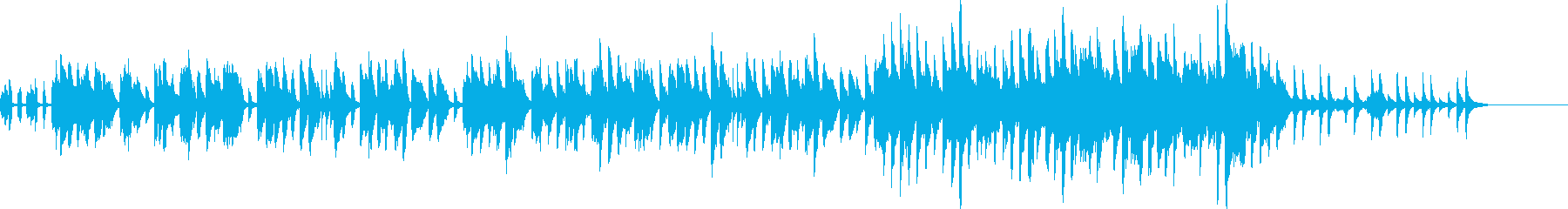 メルヘンなイメージの曲の再生済みの波形