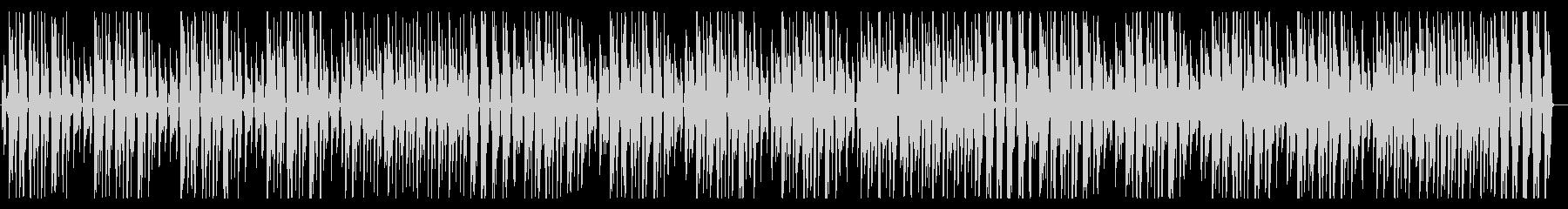 YouTube ピアノ・コミカル・軽快の未再生の波形