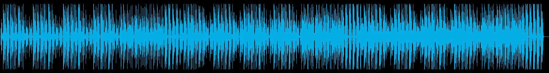 YouTube ピアノ・コミカル・軽快の再生済みの波形