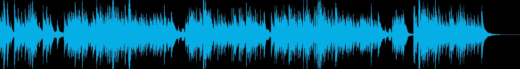 伝承歌「小山の子うさぎ」ハープの弾き語りの再生済みの波形