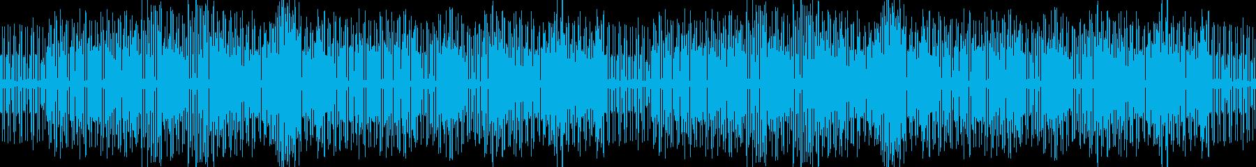 動画向きのんびりとした手回しオルガンの再生済みの波形