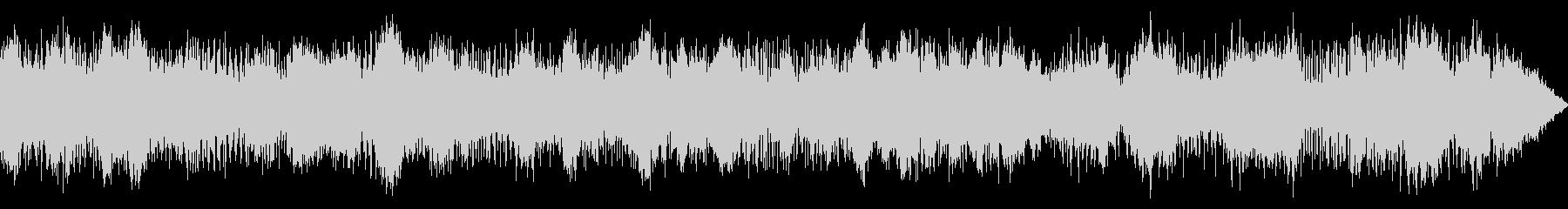 ピアノ・アンビエントの未再生の波形