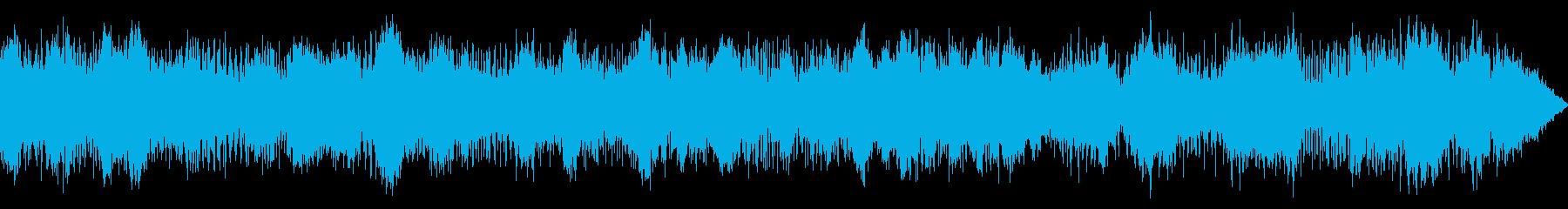 ピアノ・アンビエントの再生済みの波形