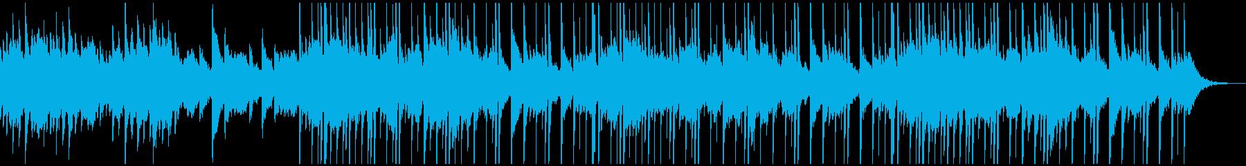夜をイメージしたピアノ+アコギ+シンセの再生済みの波形