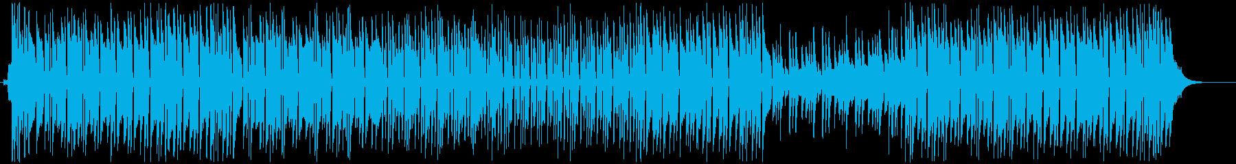 爽やかで前向きな番組-OPED-イベントの再生済みの波形