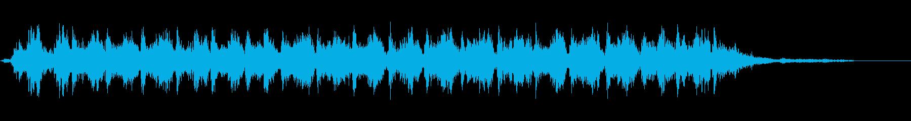 ラージ・スリー・ベルズ:速い揺れ、...の再生済みの波形