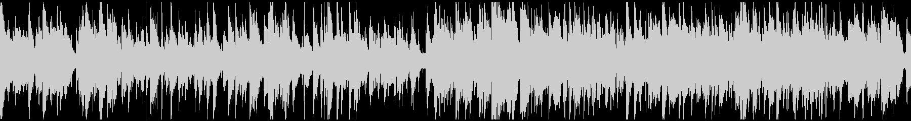 綺麗系のジャズワルツ、サックス※ループ版の未再生の波形