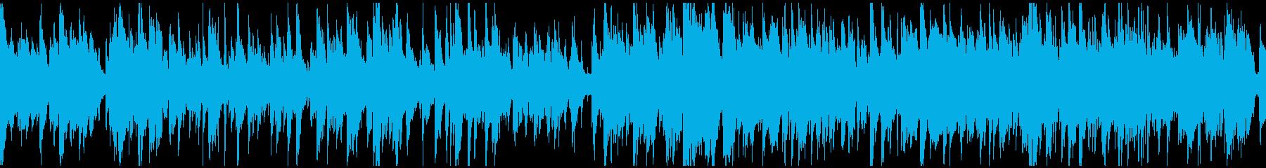 綺麗系のジャズワルツ、サックス※ループ版の再生済みの波形